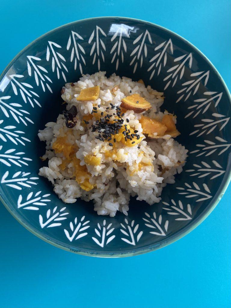 Satsumaimo Gohan (Süßkartoffel Reis)